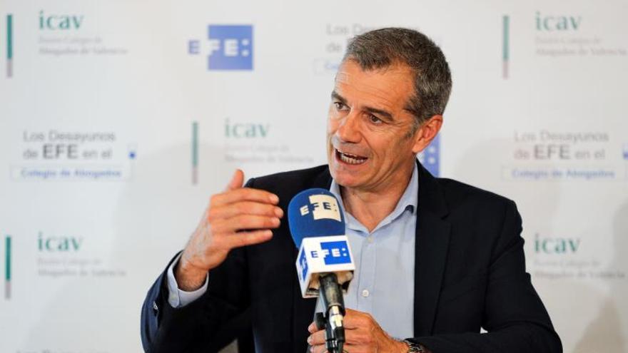 Cantó (Cs): No hay un nacionalismo más inútil en España que el de Compromís