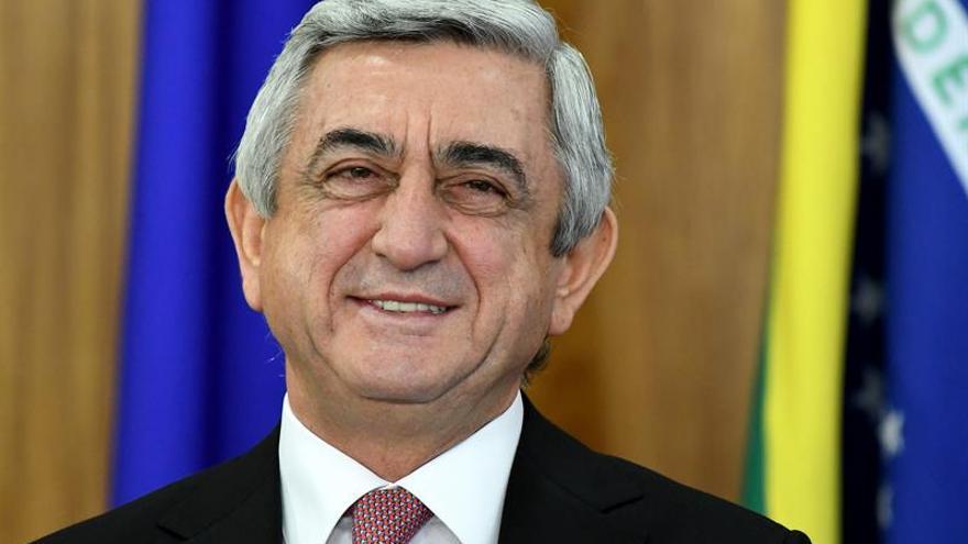 El Parlamento armenio vota hoy la candidatura de Sargsián a primer ministro
