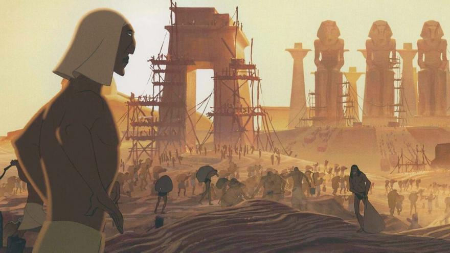 Fotograma de la película 'El Príncipe de Egipto'.