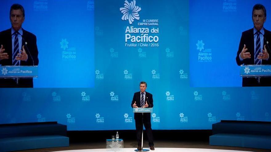 Macri busca un acercamiento del Mercosur con la Alianza del Pacífico