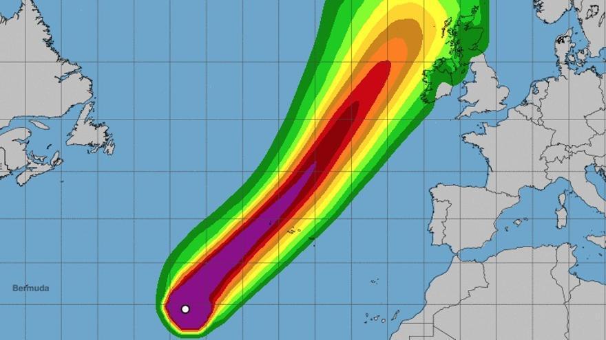 Trayectoria y alcance del huracán Lorenzo para las próximas horas