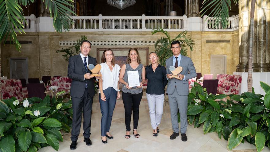 Los directores de los hoteles Costa Meloneras, Villa del Conde y Corallium Beach by Lopesan Hotels