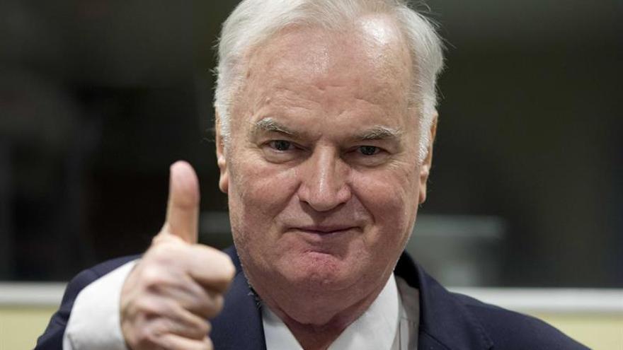 Cadena perpetua para Mladic por genocidio y crímenes de guerra en la antigua Yugoslavia