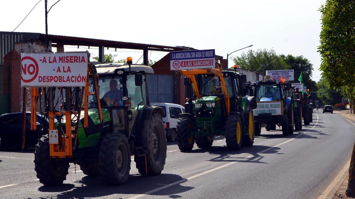 Tractorada en Villarrubia de los Ojos