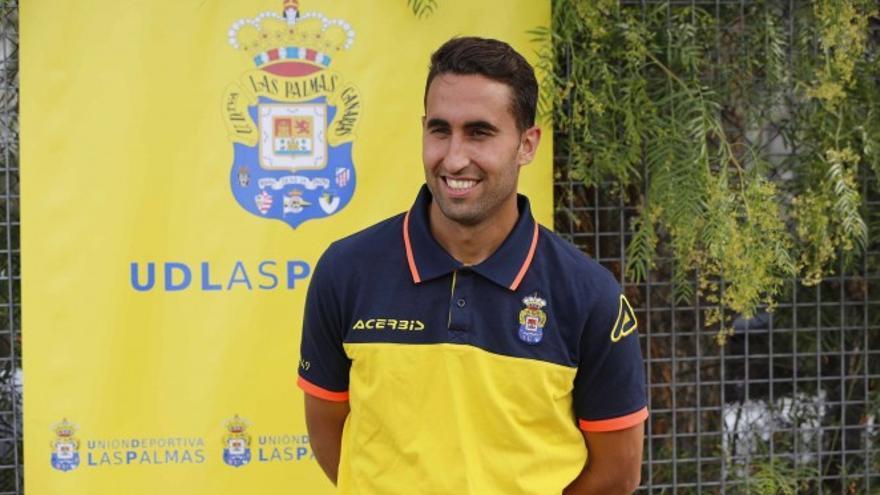 Ángel Montoro, jugador de la Unión Deportiva Las Palmas. (Foto: UDLP Oficial)