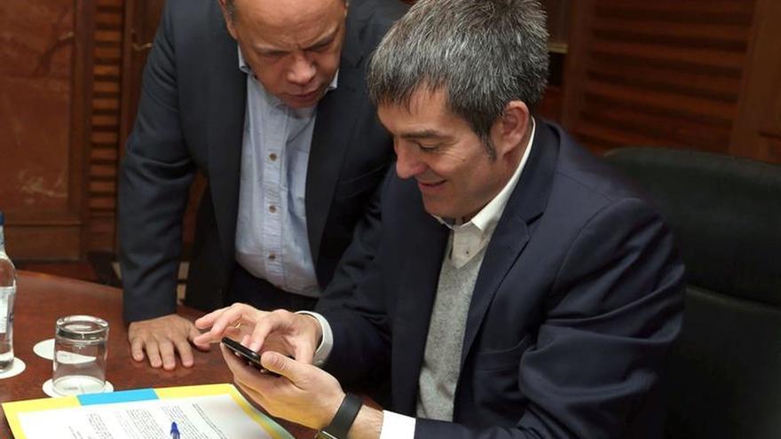 CC envía al presidente del Gobierno de Canarias a la reunión con Rajoy