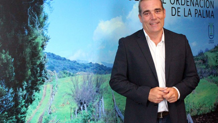 Gonzalo Pascual es consejero de Planificación del Cabildo.