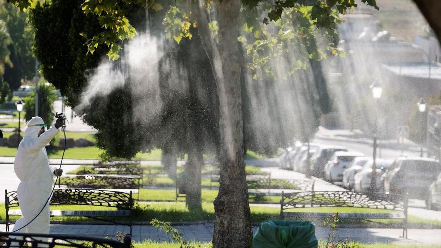 Fumigan La Puebla (Sevilla) para combatir al mosquito del virus del Nilo