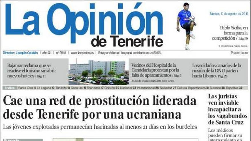 De las portadas del día (10/08/2010) #4