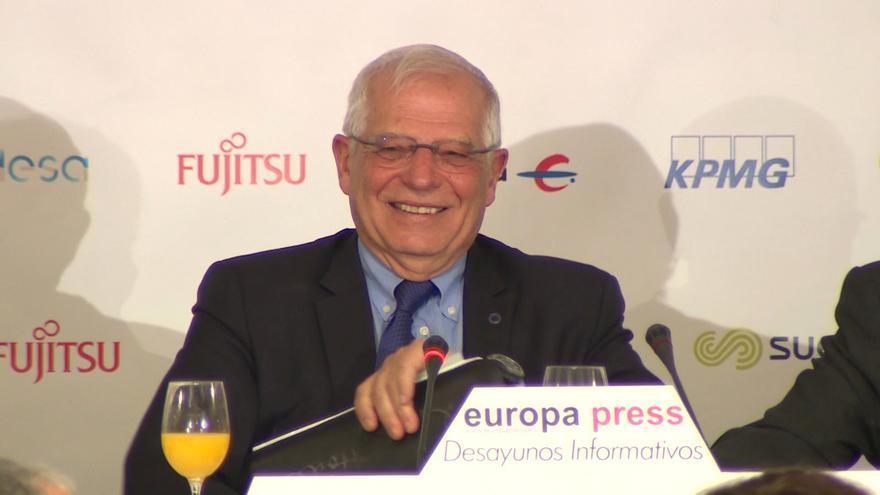 """Borrell defiende que España """"está empezando a recuperar lo perdido"""" en los fondos para cooperación al desarrollo"""