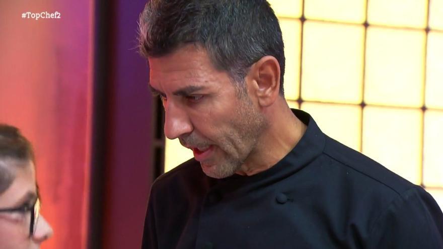 'Top Chef': Indignación del juez Paco Roncero ante un plato vacío
