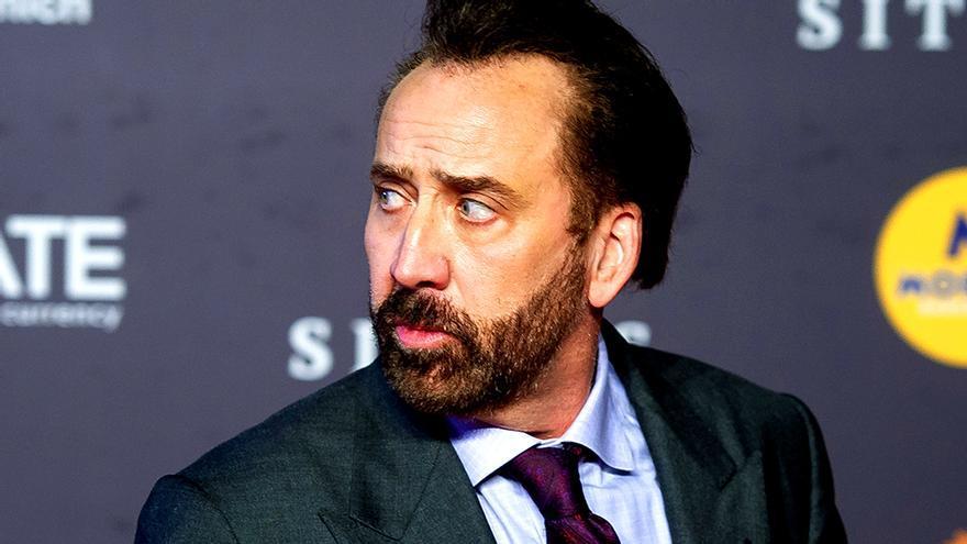 Nicolas Cage en una foto de 2018