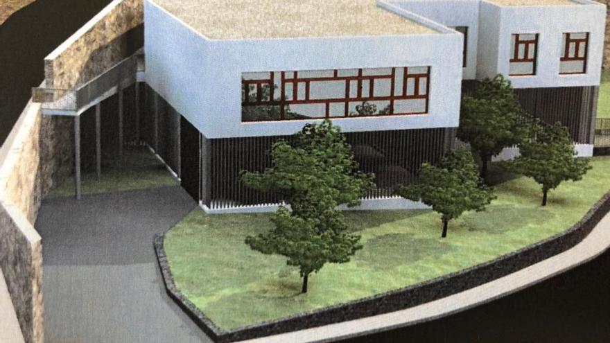 Recreación del Centro Micológico de Mazo.