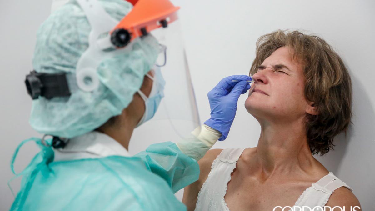 Test de Covid-19 en Cruz Roja