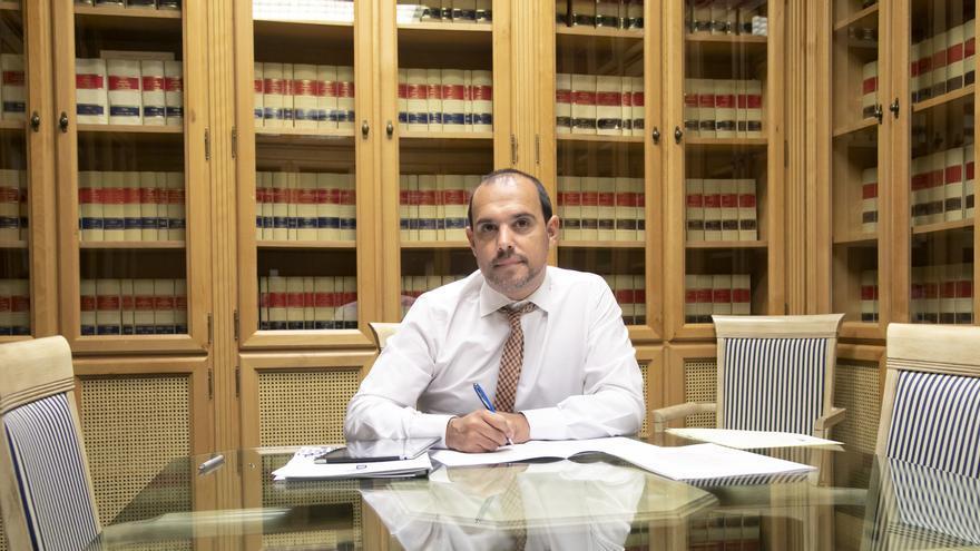 Pablo Bellido, presidente de las Cortes de Castilla-La Mancha