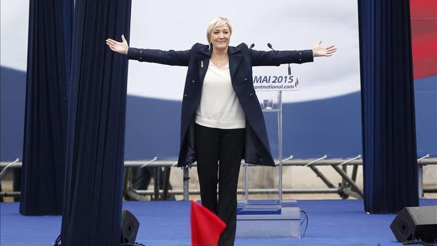 Marine Le Pen no quiere que su padre hable más en nombre del Frente Nacional