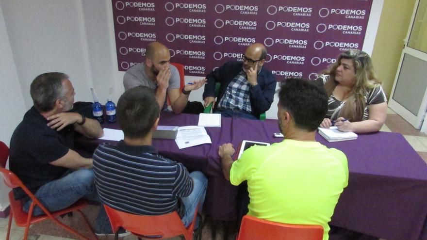 Juan Manuel Brito, candidato de Podemos al Cabildo Insular de Gran Canaria, se alegra de la sentencia que anula la decisión del Consorcio de Emergencias
