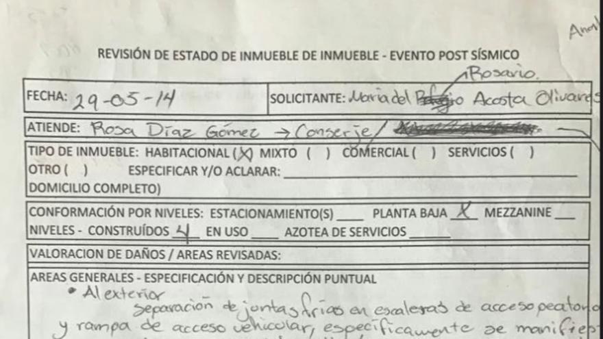 Las seis mil denuncias que precedieron al terremoto en Ciudad de México