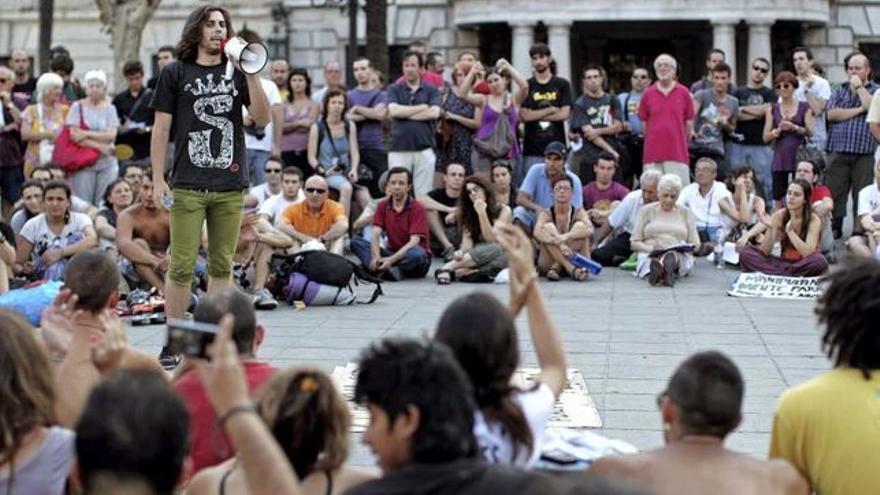 Asamblea del 15M en Valencia