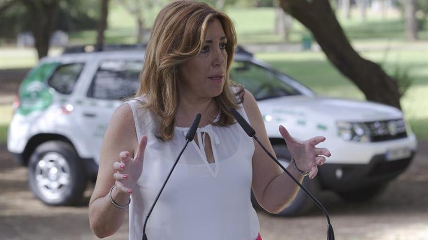 Susana Díaz muestra su dolor por el nuevo crimen machista y pide un Pacto de Estado