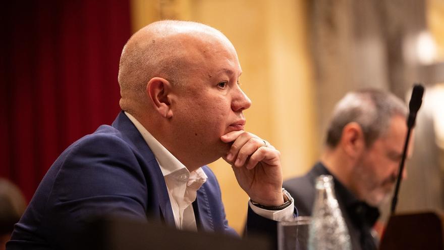 Joan García (Cs), nombrado vicepresidente segundo del Parlament