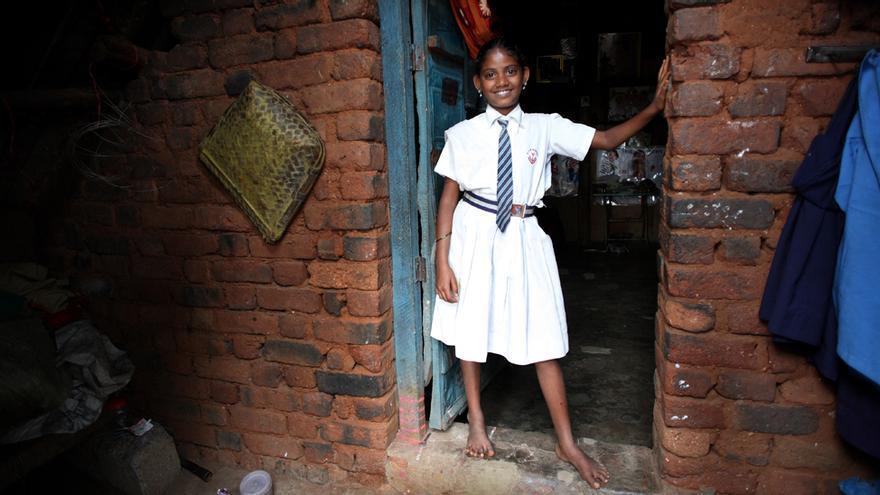 India, Pavitra (12 años)