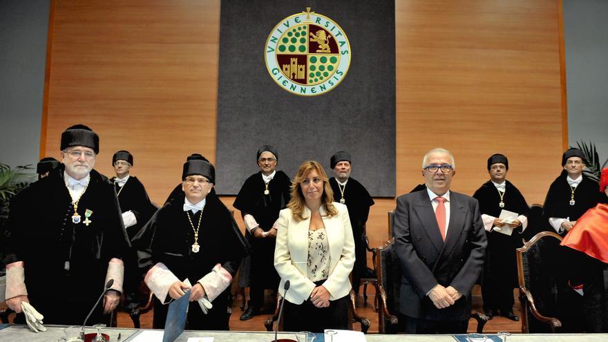 Inauguración del curso universitario 2013-2014 en la Universidad de Jaén.