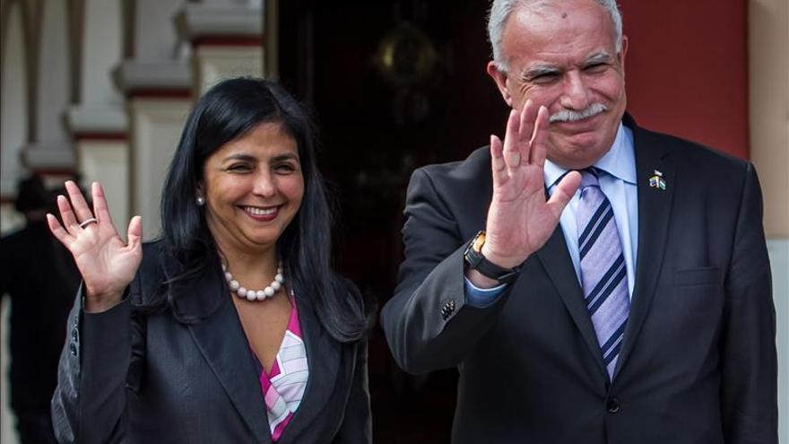 Venezuela elevará a nivel de embajada representación diplomática en Palestina