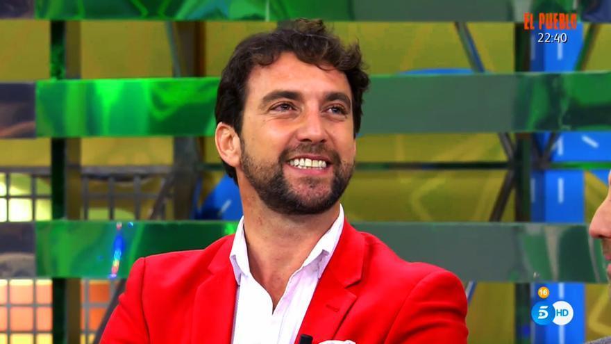 El torero Antonio Pavón en 'Sálvame'