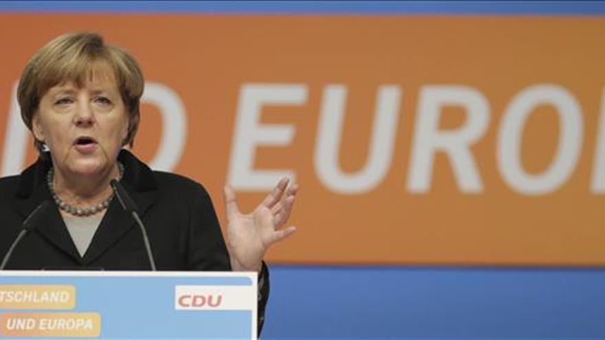Merkel advierte de que la crisis económica no puede darse por superada