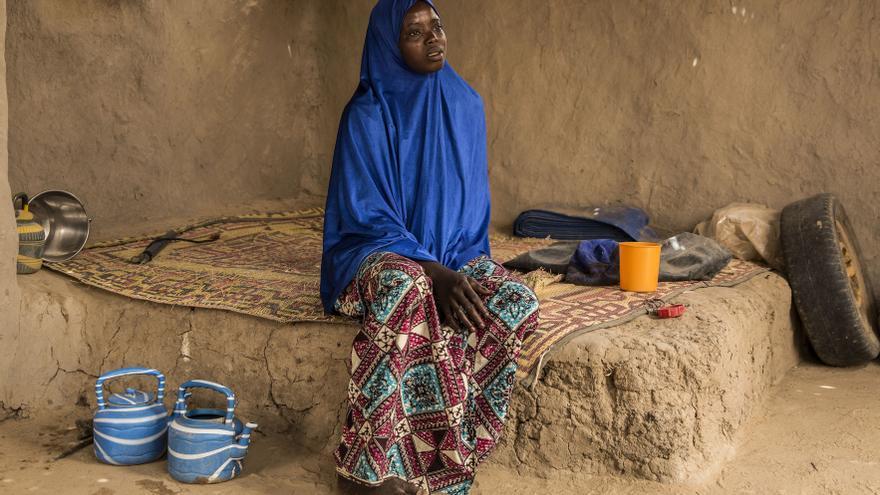 Oumou fue obligada a casarse cuando tenía 14 años.