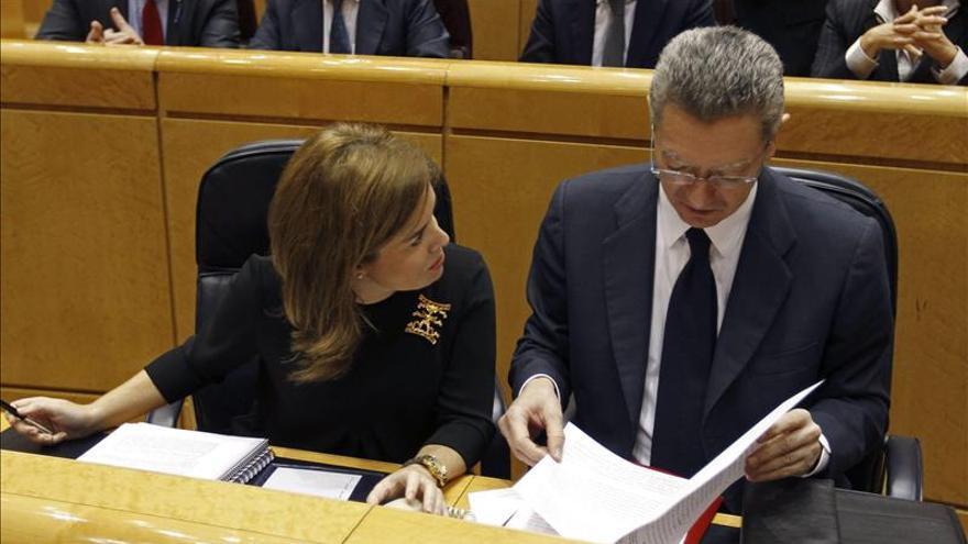 Gallardón: Españoles no entenderían gastar 13 millones de euros en el Valle de los Caídos