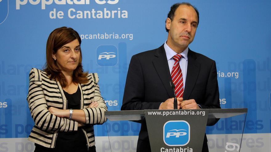 María José Sáenz de Buruaga e Ignacio Diego.