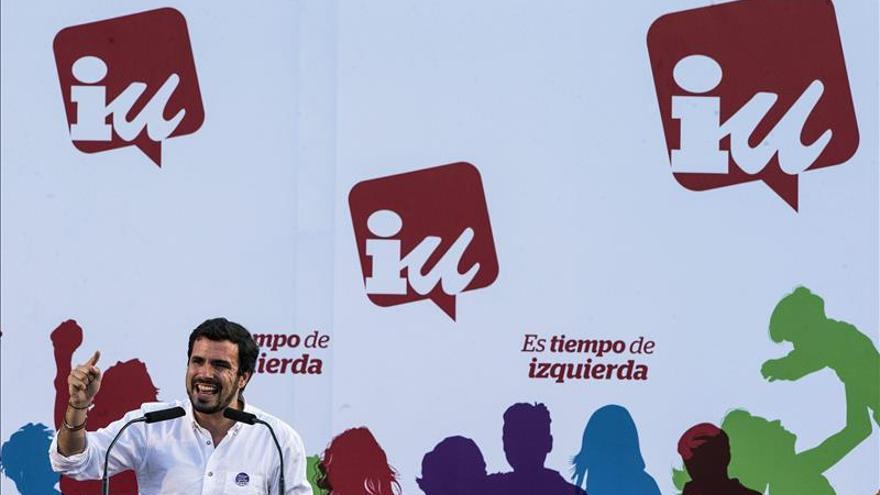 """Garzón dice que el """"PP ha recuperado las 3 plagas: la corrupción, la xenofobia y Aznar"""""""