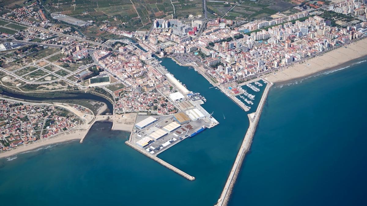 Puerto de Gandia.