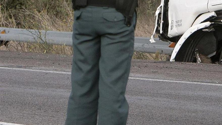 Dos fallecidos en la colisión frontal de dos turismos en Benlloch (Castellón)