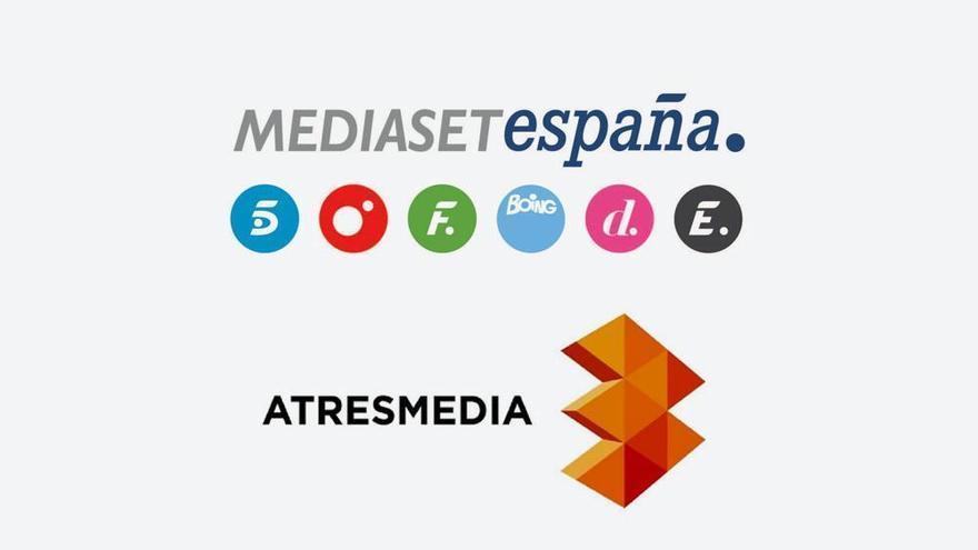 Mediaset España y Atresmedia