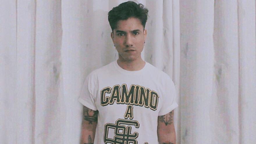 Juan Manuel Bustamente, alias Nahuel, en una foto cedida por él.