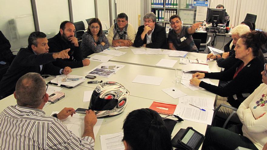 Última reunión de los miembros del Tagoror de Anaga.