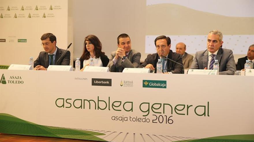 Un momento durante la Asamblea General de ASAJA