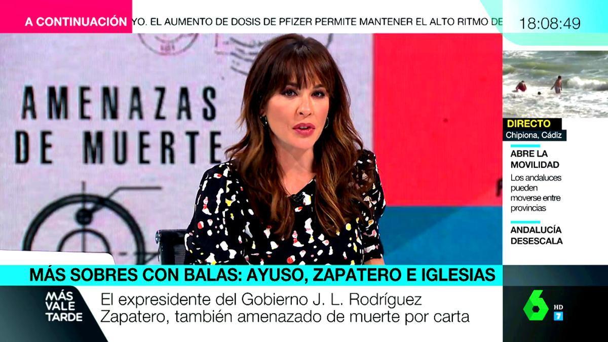 Mamen Mendizábal, en 'Más vale tarde'