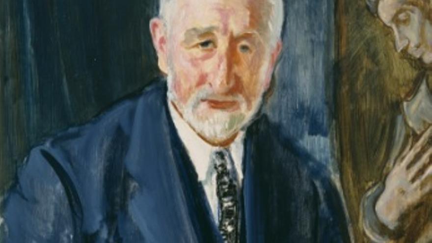 Retrato de Manuel B. Cossío, (1925-1930). Museo Nacional del Prado, Madrid