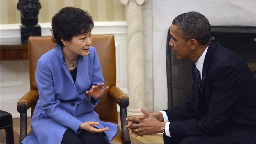 """Obama afirma que EE.UU. está """"preparado"""" para defenderse de las amenazas de Corea del Norte"""