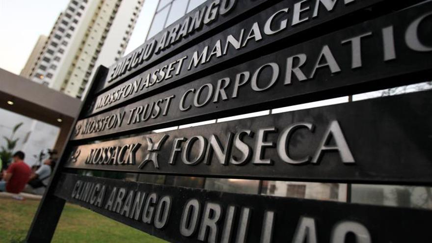 Vista general de la sede de la firma Mossack Fonseca, en Ciudad de Panamá (Panamá).