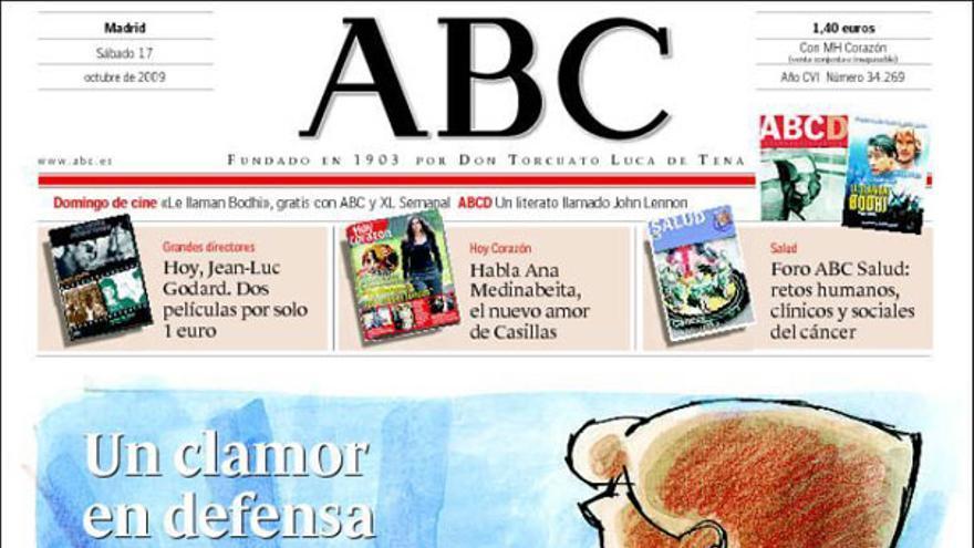 De las portadas del día (17-10-09) #6