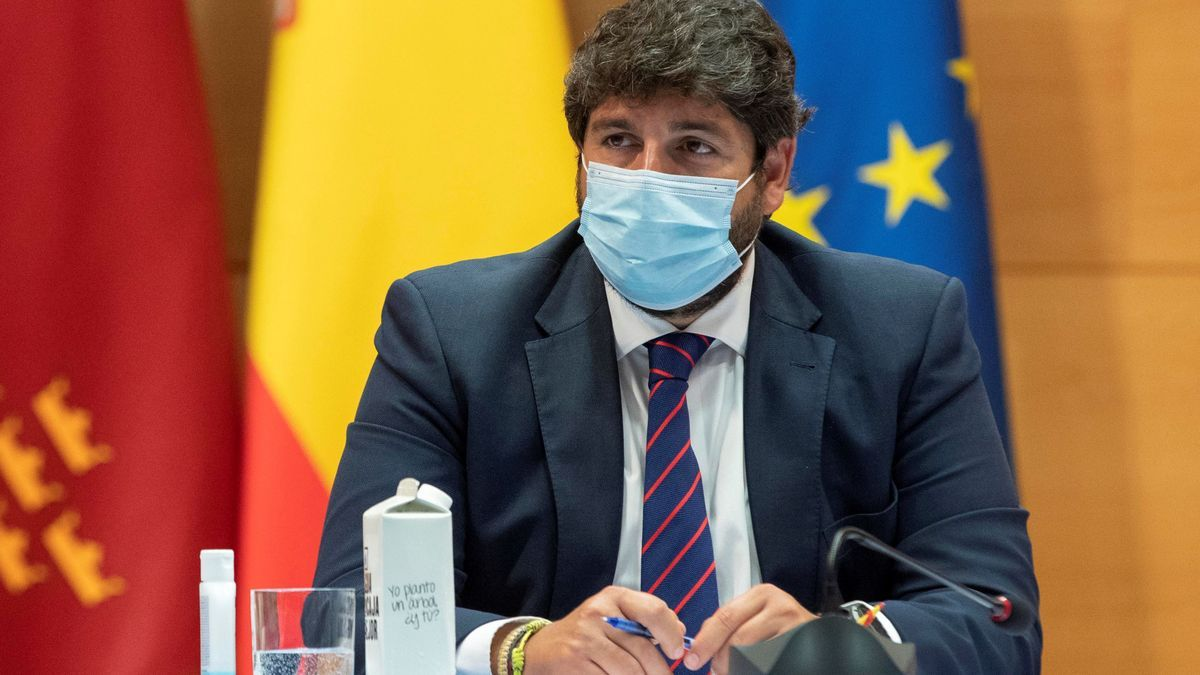 El presidente de la Comunidad de Murcia, Fernando López Miras. EFE/Marcial Guillén/Archivo