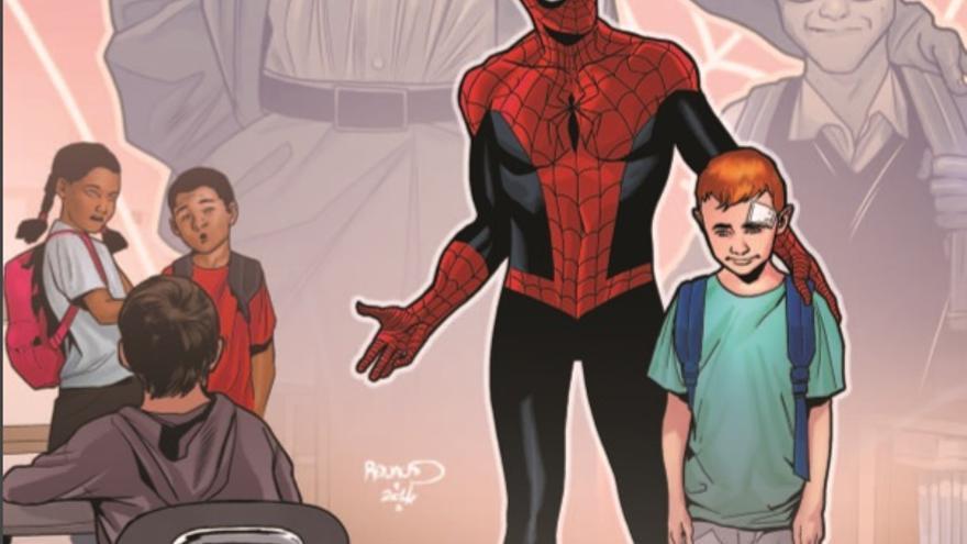 Portada del cómic 'Los Vengadores. Acoso nunca más'.