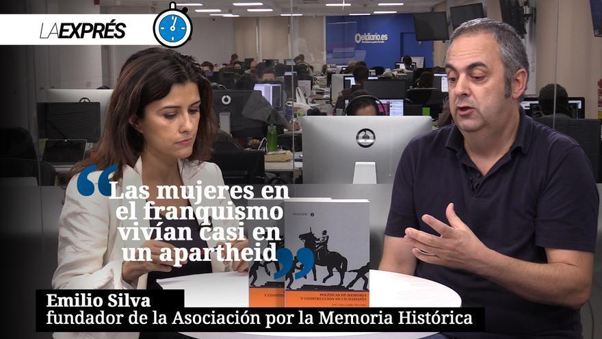 """Emilio Silva: """"Las mujeres en el franquismo vivían casi en un apartheid"""""""