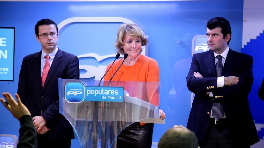 """Aguirre arremete contra """"los progres empecinados"""" en unas leyes educativas que han llevado a """"un paro juvenil del 52%"""""""