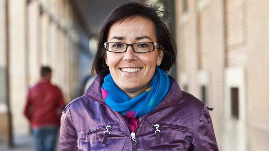 La alcaldesa de Andorra (Teruel), Sofía Ciércoles, de Izquierda Unida